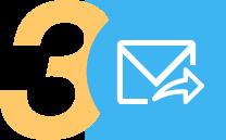 Иконка с почтовым конвертом